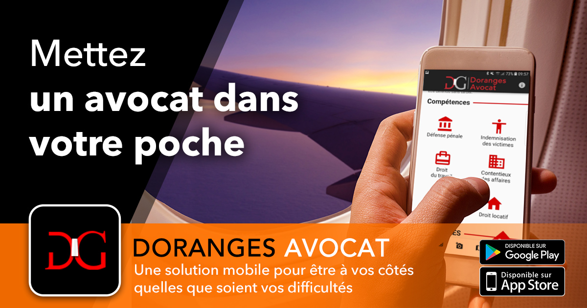 Application mobile avocat